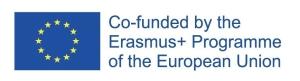 Erasmus+ acknowledgement